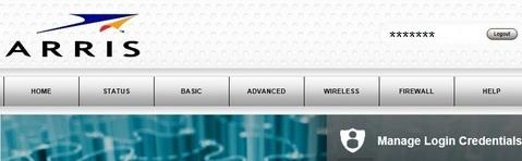 Access Arris Router Login