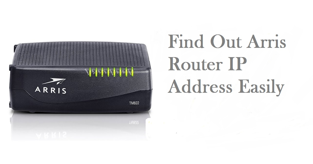 How to get into your Arris Router IP Address - RouterGuide
