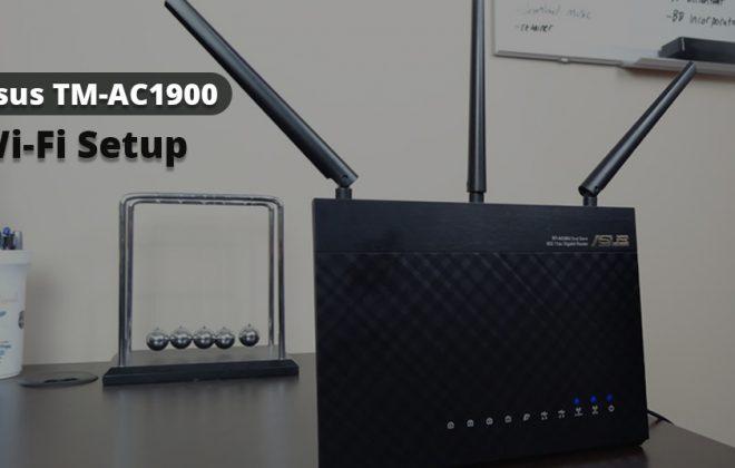 Asus TM-AC1900 Wi-Fi Setup